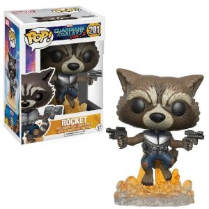 FUNKO POP GUARDIANS GALAXY 2 ROCKET 201