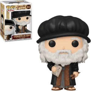FUNKO POP ARTISTS LEONARDO DA VINCI 04