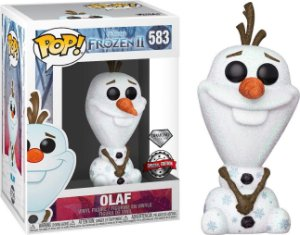 FUNKO POP DISNEY FROZEN II OLAF DIAMOND *EX* 583