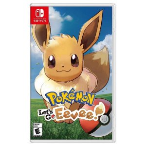 Switch Pokemon: Lets Go Eevee [USADO]