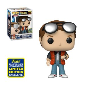 Funko Pop Back To The Future Marty Checking Watch SDCC 2020 965