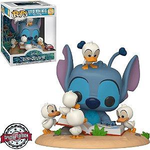 Funko Pop Disney Lilo Stitch *Deluxe* Stitch With Ducks *EX* 639