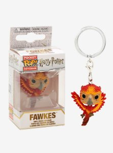 Chaveiro Funko Pop Keychain Harry Potter Fawkes
