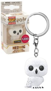 Chaveiro Funko Pop Keychain Harry Potter Hedwing Flocked *EX*