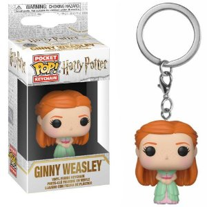 Chaveiro Funko Pop Keychain Harry Potter Yule Ball Ginny Weasley