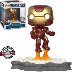 Funko Pop Marvel Avengers *DELUXE* Iron Man *EX* 584