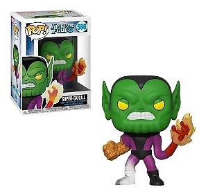 Funko Pop Marvel Fantastic Four 4 Super-Skrull 566