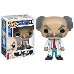 Funko Pop Megaman Mega Dr.Willy 105