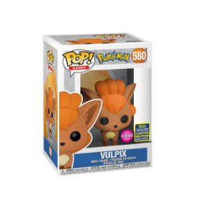 Funko Pop Pokemon S3 Vulpix Flocked *SDCC 2020* 580