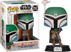 Funko Pop Star Wars Mandalorian Covert Mandalorian 352