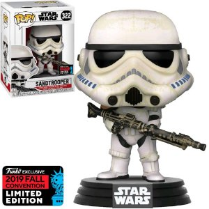 Funko Pop Star Wars Sandtrooper *Comic Nycc* 322