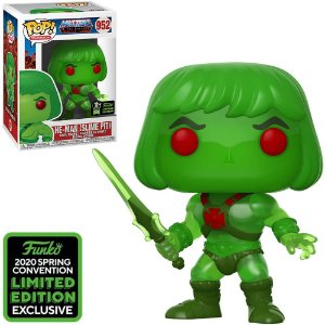Funko Pop Tv Masters Of The Universe He-Man *Comic Con Emerald* 952