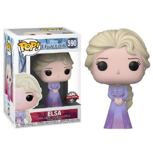 Funko Pop Disney Frozen Ii Elsa W/Intro *EX* 590