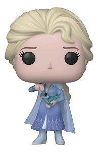 Funko Pop Disney Frozen Ii Elsa W/Salamander *EX* 716