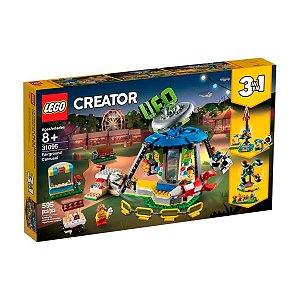 Lego Creator - Modelo 3 Em 1: Parque de Diversões