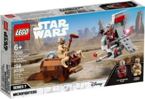 Lego Star Wars - T-16 Skyhopper vs Bantha Microfighters