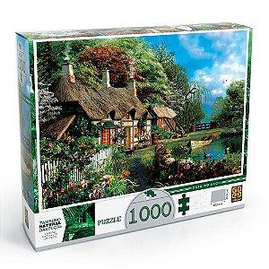 Puzzle 1000 peças Casa no Lago