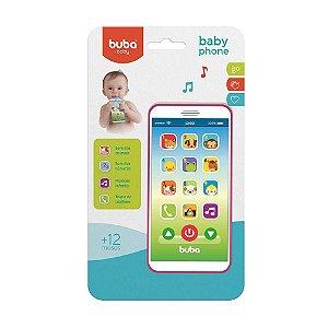 BUBA Baby Phone Rosa