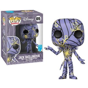 Funko Pop Disney Art Series Jack Skellington 05