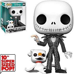 Funko Pop Disney Nbc Jack *Super Sized 10* Jack W/Zero 809