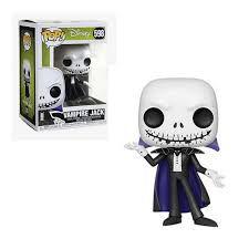Funko Pop Disney Nbc S6 Vampire Jack Metalic *EX* 598