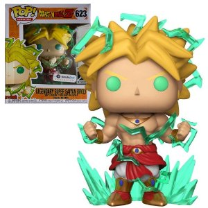 Funko Pop Dragon Ball Z Broly Super Saiyan 2 *Sized* *EX* 623