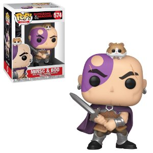 Funko Pop Dungeons Dragons Minsc & Boo 574