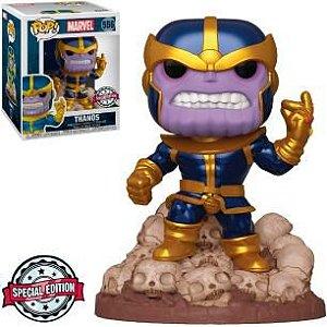 Funko Pop Marvel *DELUXE* Thanos *EX* 556