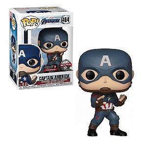 Funko Pop Marvel Avengers Endgame Captain America *EX* 464
