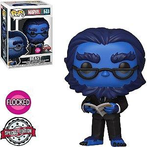 Funko Pop Marvel X-Men 20th Beast Flocked *EX* 643
