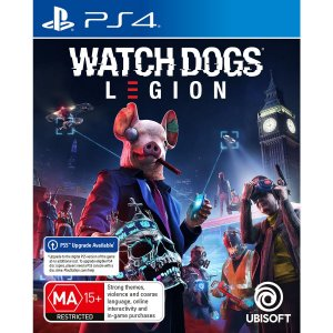 PS4 Watch Dogs Legions