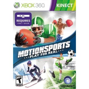Xbox 360 MotionSports Play For Real KINECT [USADO]