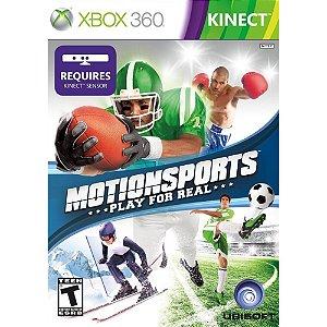 Xbox 360 MotionSports Play For Real KINECT [USADO]