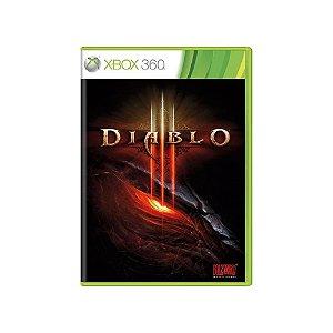 Xbox 360 Diablo 3 [USADO]