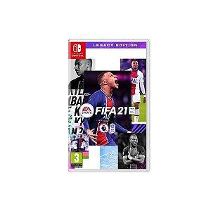 Switch FIFA 21 Edição Legado