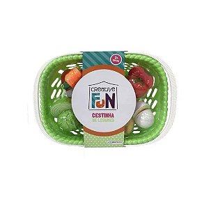 Creative Fun Cestinhas de 6 Legumes Multikids - BR1113 Verde
