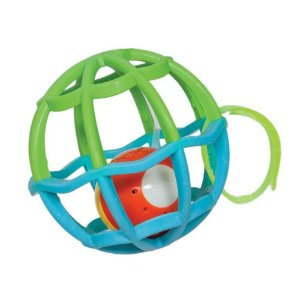 BUBA Baby Ball - Luz E Som Verde/Azul