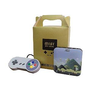 Retro Box 17.000+ Jogos Com 1 Controle Com Fio