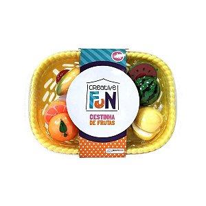 Creative Fun Cestinha De Frutas Multikids BR1114 Amarelo