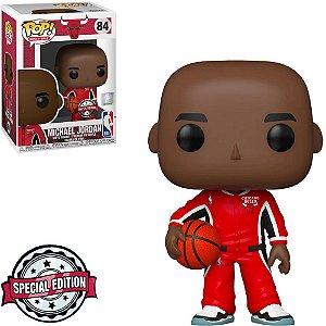 Funko Pop! Basketball: Chicago Bulls - Michael Jordan (Warms up) 84