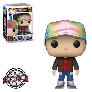 Funko Pop! Movies: Back to the Future - Marty McFly Future Outfit (Metallic) 962