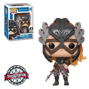 Funko Pop! Games: Playstation Horizon Zero Dawn - Aloy Shadow Stalwart Armor Special Edition Official Licensed Product 635