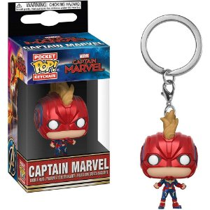 Chaveiro Funko Pop! Keychain: Captain Marvel - Capitã Marvel