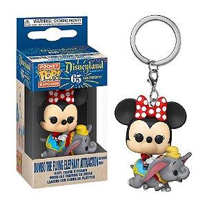 Chaveiro Funko Pop! Keychain: Disney 65th Anniversary - Dumbo Ride w/ Minnie