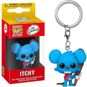 Chaveiro Funko Pop! Keychain: Os Simpsons - Itchy