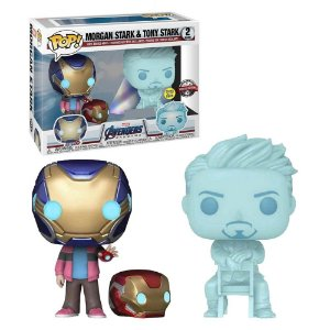 Funko Pop! Marvel: Vingadores Ultimato - Morgan Stark & Tony Stark