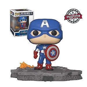 Funko Pop! Marvel Deluxe: Avengers Assemble - Captain America 589
