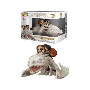 Funko Pop! Rides: Harry Potter - Harry, Hermione and Ron on Gringotts Dragon 93