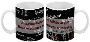 Caneca Profissão 300 ml Matemática - 1 unidade