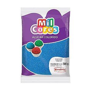 Açúcar Colorido Azul Mil Cores 500gr